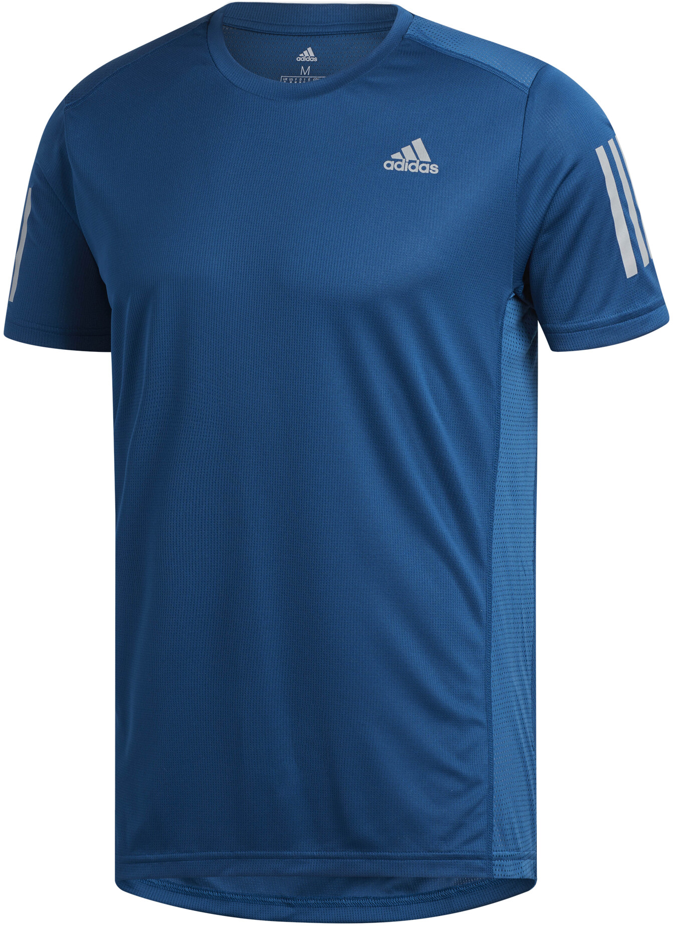 18bf413c adidas Own The Run T-Shirt Herrer, legend marine/reflective silver ...